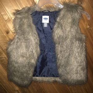 Old Navy Faux Vest